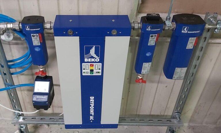 Read more about the article Instalacja kompaktowego osuszacza adsorpcyjnego AC126