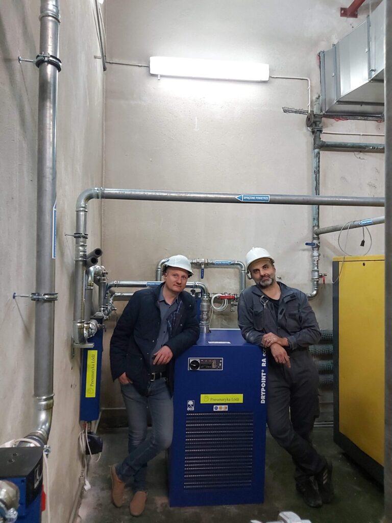 Read more about the article Modernizacja instalacji i uzdatniania w kompresorowni
